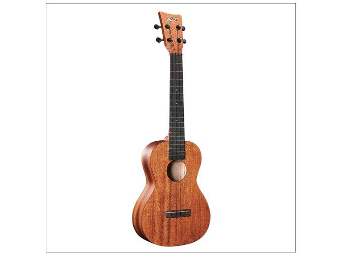 sopránové ukulele vrchní deska mahagon ashton uke 200 mh