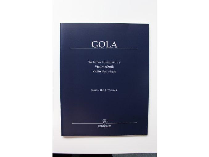 Gola - Technika houslové hry 2