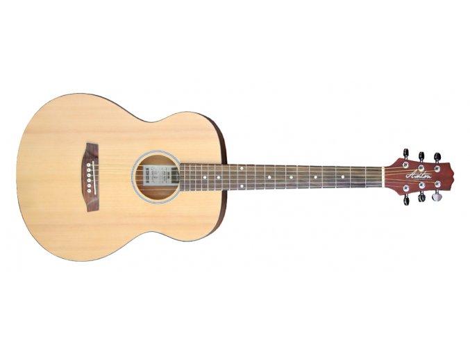 akusticka kytara menší tělo ashton jjr20 ntm