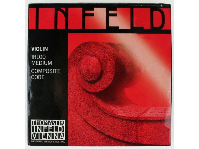 Free shipping Thomastik Infeld Red IR100 Medium Violin Strings 4 4 Made in Austria Full Set