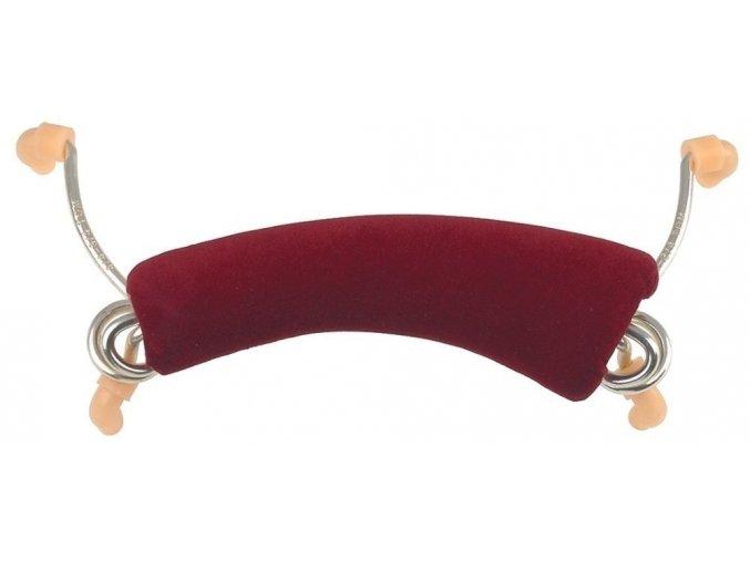 GEWApure Pavouk Comfort 1/2 - houslová ramenní opěrka (pavouk) - červená