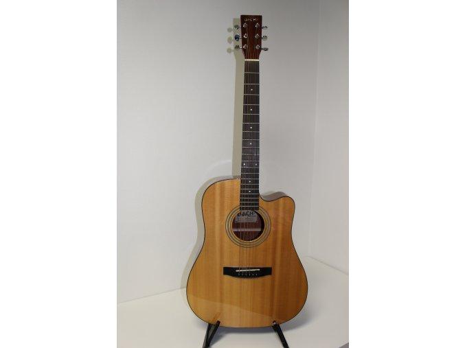 BaCH-833 Gloss akustická kytara