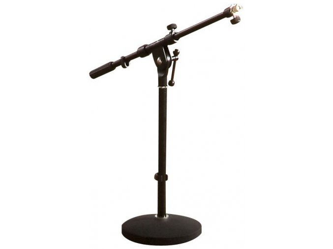 Mikrofonní stojan nízký ASHTON - černý