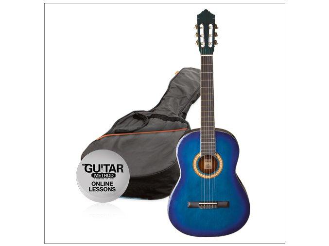 ASHTON TBB dětská klasická kytara vel. 3/4 + obal + škola hry