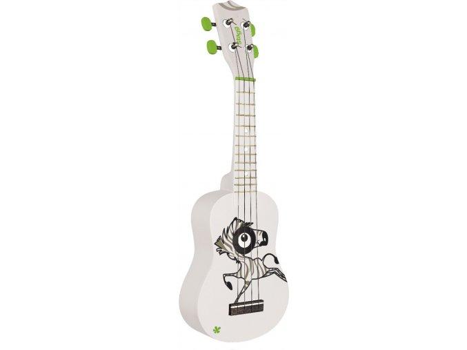 stagg ukulele zebra