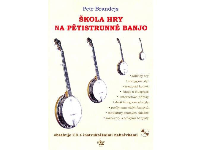 3200460 Brandejs + škola hry na banjo CD