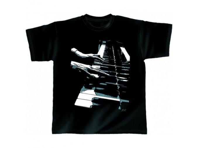 3400077 hudebni tricko s motivem music piano hands