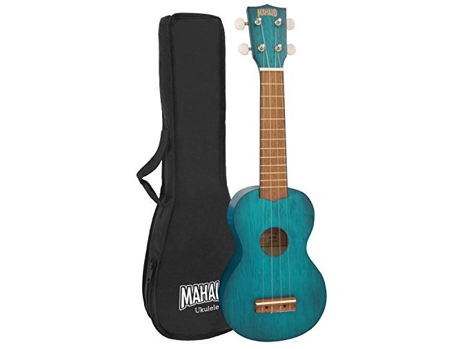 Mahalo sopránové ukulele obal zdarma MK1 tbu