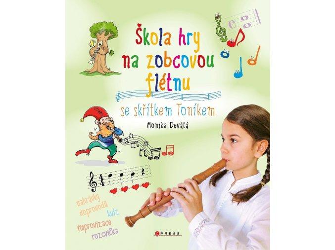 3200844 škola hry na zobcovou flétnu se skřítkem Toníkem monika devátá
