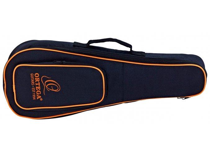 2000001 obal na sopránové ukulele polstrovaný s ozdobným krajem na záda ortega oubstd so