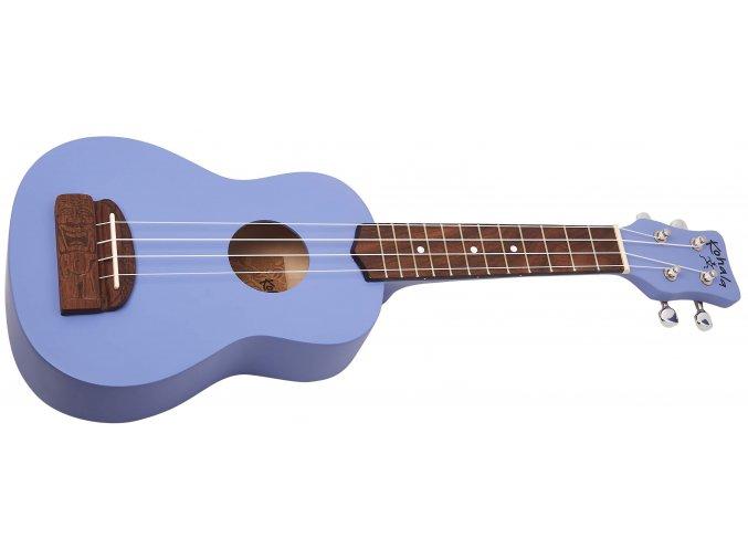 2500057 ukulele sopránové fialové s ozdobnou kobylkou kohala kt spu