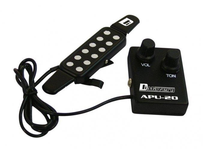 3100186 APU 20 snímač pro akustické kytary d