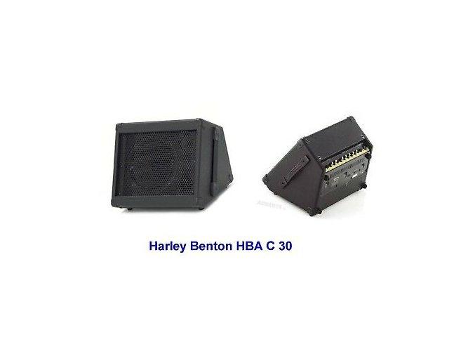 2200065 kytarové kombo na baterie 30 Watt Akku Gitarrencombo Harley Benton HBAC 30