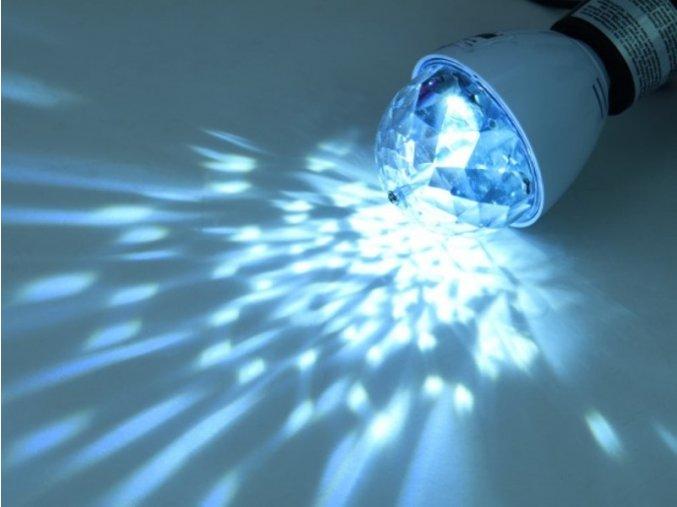 1100007 LED disko žárovka bílá 1