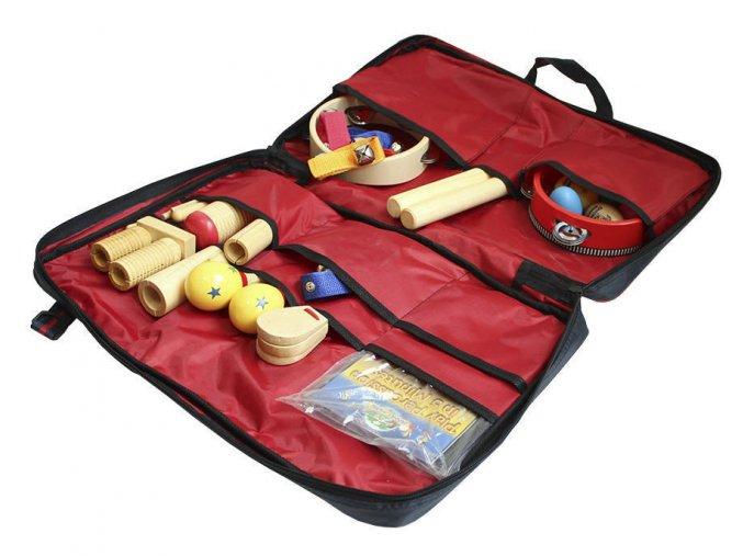 Planet Music orffovy nástroje sada percusí pro školy školky v tašce