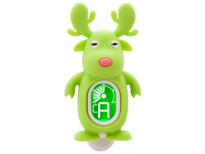 1400183 klipová ladička sob zelený swiff reindeer green