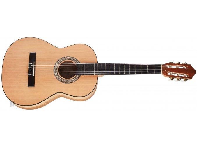 Strunal klasická kytara 071 sofia velikost 7 8 přední deska masiv cedr b