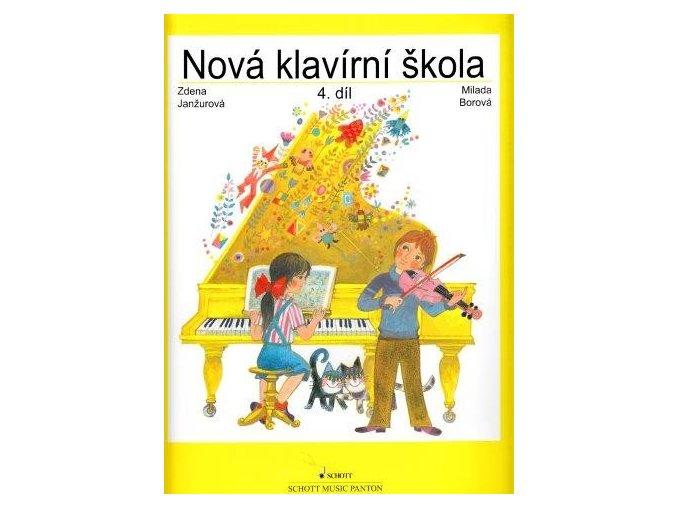Janžurová, Borová - Nová klavírní škola IV