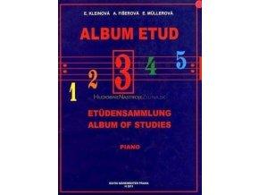 Kleinová, Fišerová - Album Etud III