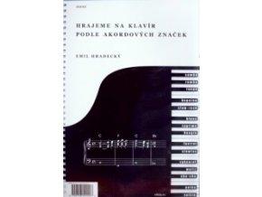 Hradecký - Hrajeme na klavír podle akordových značek