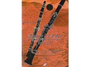 Kněžek - Koncert č. 9 B dur pro dva klarinety a orchestr