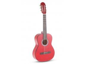 dětská klasická kytara GEWA červená