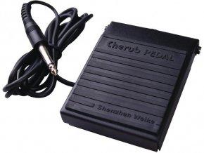 CHERUB WTB-004, sustain pedál přepínací s kabelem
