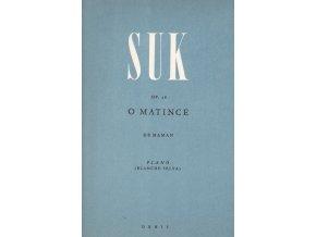Suk - O matince op. 28