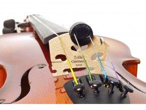 dusítko tlumítko na housle kulaté guma DICTUM 543511 Tourte