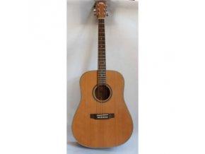abx aw 57cd akustická kytara přední deska cedr