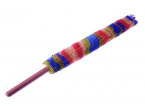 HELIN 2720, vlněný vytěrák na klarinet s dřevěnou rukojetí a PVC čepičkou