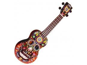 mahalo sopránové ukulele maska obal zdarma