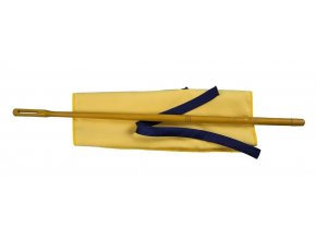 2600257 vytěrák na flétnu dřevěná tyčka a hadřík z mikrovlákna