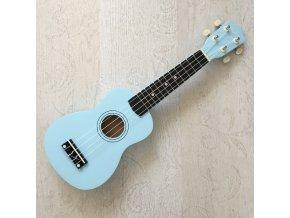 FZONE fzu002 ukulele sopránové světle modré