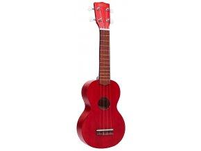 Mahalo sopránové ukulele červené obal zdarma mk1 trd