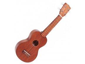 Mahalo sopránové ukulele hnědé obal zdarma