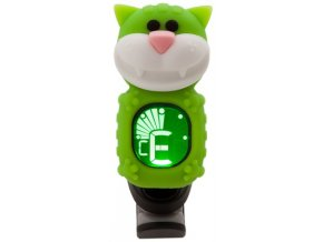1400183 klipová ladička kočka swiff cat green