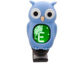1400183 klipová ladička sova swiff owl blue