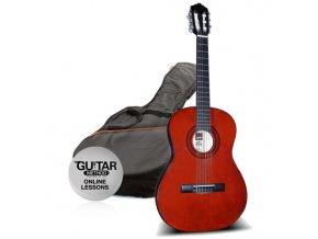 klasická kytara ashton spcg 34 am pack natural