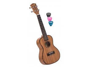 CASCHA hh 2033 ukulele koncertní + trsátka zdarma