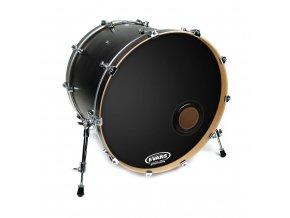 2700646 černá blána na kopák basový buben 22 rezonanční EVANS BD22REMAD