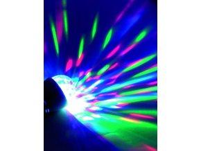 1100006 LED disko žárovka barevná RGB 1