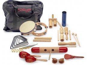 STAGG orffovy nástroje sada percusí pro školy školky v tašce