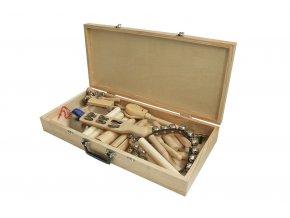 Planet Music orffovy nástroje sada percusí pro školy školky v dřevěném kufříku