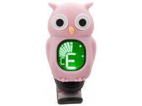 1400183 klipová ladička sova růžová swiff owl