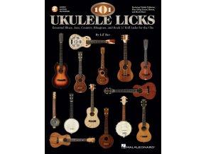 3200855 101 UKULELE LICKS publikace na ukulele Blues, jazz, country