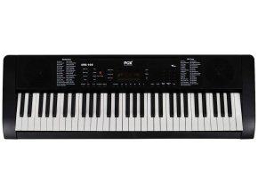 FOX 160 dětské klávesy vstup na mikrofon černé