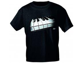3400079 hudební tričko klavírista muzikant klávesák