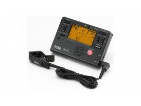 1400187 KORG TM 60C metronom ladička a mikrofonní snímač klip černá