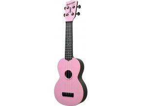 růžové sopránové ukulele KALA